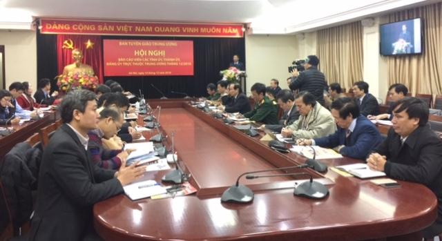 Đẩy mạnh tuyên truyền về các nội dung Hội nghị Trung ương 8 (khóa XII)