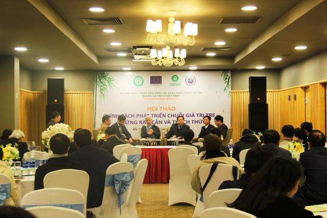 Hợp tác công tư nâng cao năng lực cạnh tranh và phát triển thị trường cho tre Việt Nam