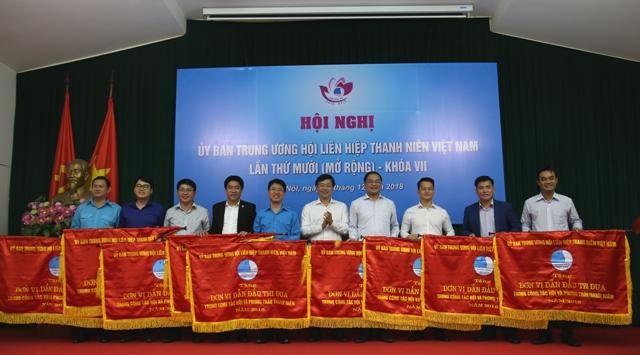 """Hội Liên hiệp Thanh niên Việt Nam chọn chủ đề công tác năm 2019 là """"Xây dựng Hội vững mạnh"""""""