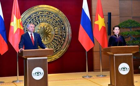 Thúc đẩy hợp tác sâu rộng Quốc hội hai nước Việt - Nga