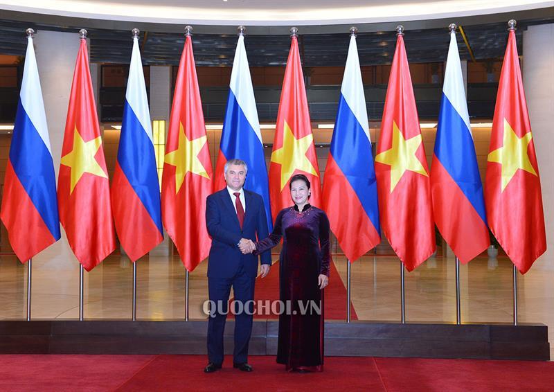 Hợp tác nghị viện là trụ cột quan trọng trong quan hệ Việt – Nga