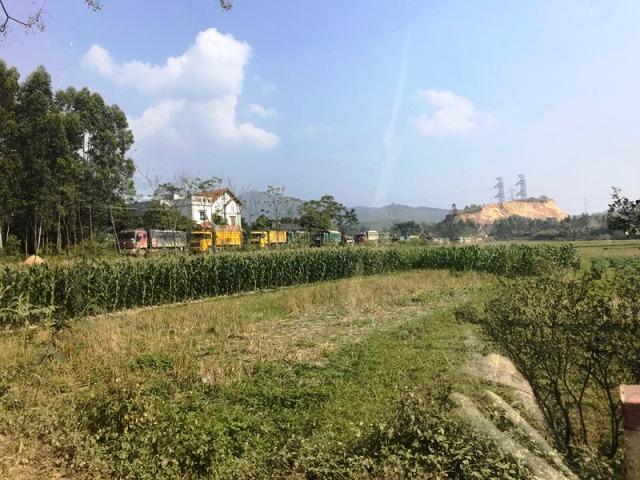 Trung Mỹ (Bình Xuyên): Xem xét lộ trình đóng cửa các mỏ khai thác đá và mỏ khai thác đất hạ cốt