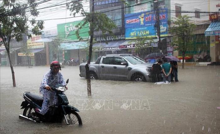 Quảng Nam: Mưa lớn tiếp tục diễn ra trên diện rộng