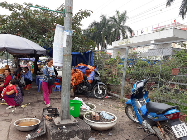 TP Thái Nguyên: Tình trạng lấn chiếm vỉa hè, lòng đường gia tăng
