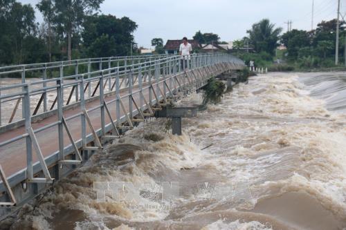 Nguy cơ cao lũ trên các sông ở miền Trung có khả năng lên lại