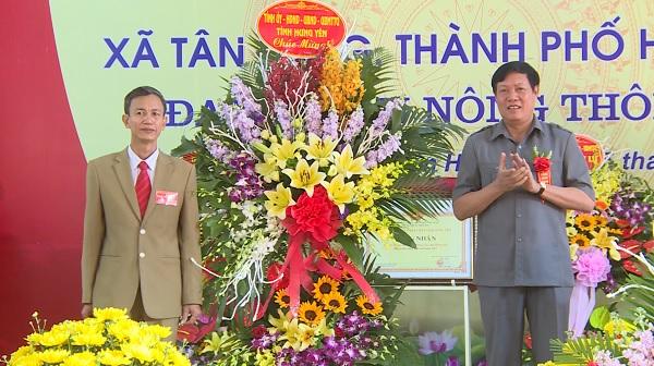 Xã Tân Hưng, Quảng Châu và Cửu Cao đón Bằng công nhận đạt chuẩn nông thôn mới