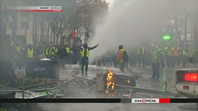 Thủ tướng Pháp tìm giải pháp hạ nhiệt làn sóng biểu tình