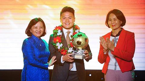 Nguyễn Quang Hải giành Quả bóng Vàng 2018