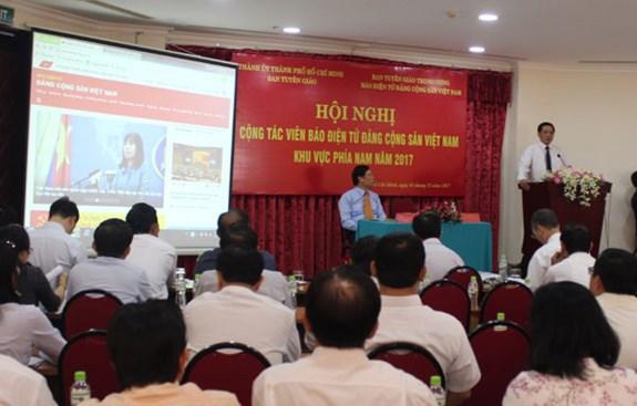 Báo điện tử Đảng Cộng sản Việt Nam tổ chức Hội nghị Cộng tác viên khu vực phía Nam