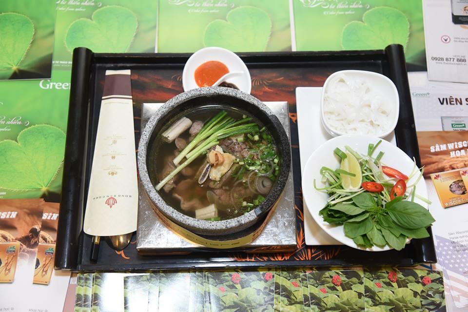Tuần lễ thực phẩm Việt với sâm Hoa Kỳ