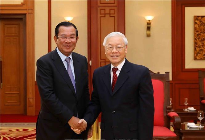 Giữ gìn, vun đắp quan hệ hợp tác toàn diện Việt Nam - Campuchia