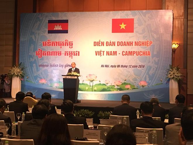 Đưa kim ngạch thương mại Việt Nam - Campuchia đạt 7 - 8 tỷ USD vào năm 2020