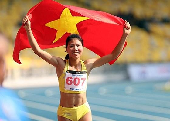 Bùi Thị Thu Thảo là vận động viên xuất sắc nhất năm 2018