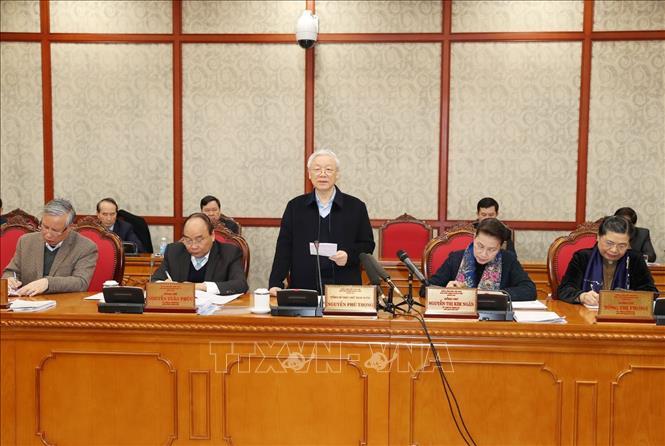 Đà Nẵng phải hết sức chăm lo công tác xây dựng Đảng, xây dựng hệ thống chính trị