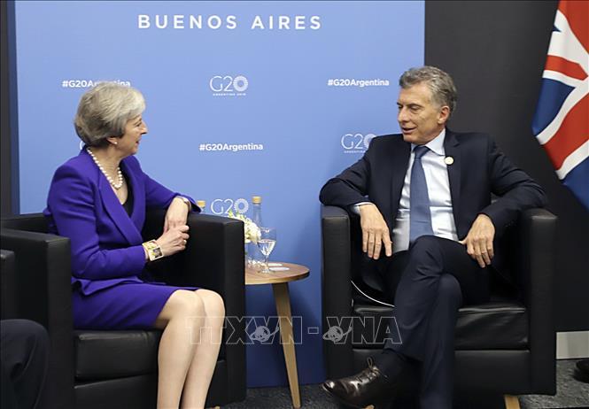 Cuộc gặp thượng đỉnh lịch sử giữa Anh và Argentina