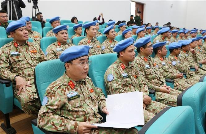 Lễ ra mắt và khai mạc huấn luyện tiền triển khai Bệnh viện dã chiến cấp 2 số 2