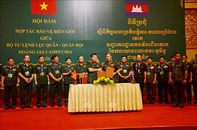 Tăng cường hợp tác bảo vệ biên giới Việt Nam - Campuchia