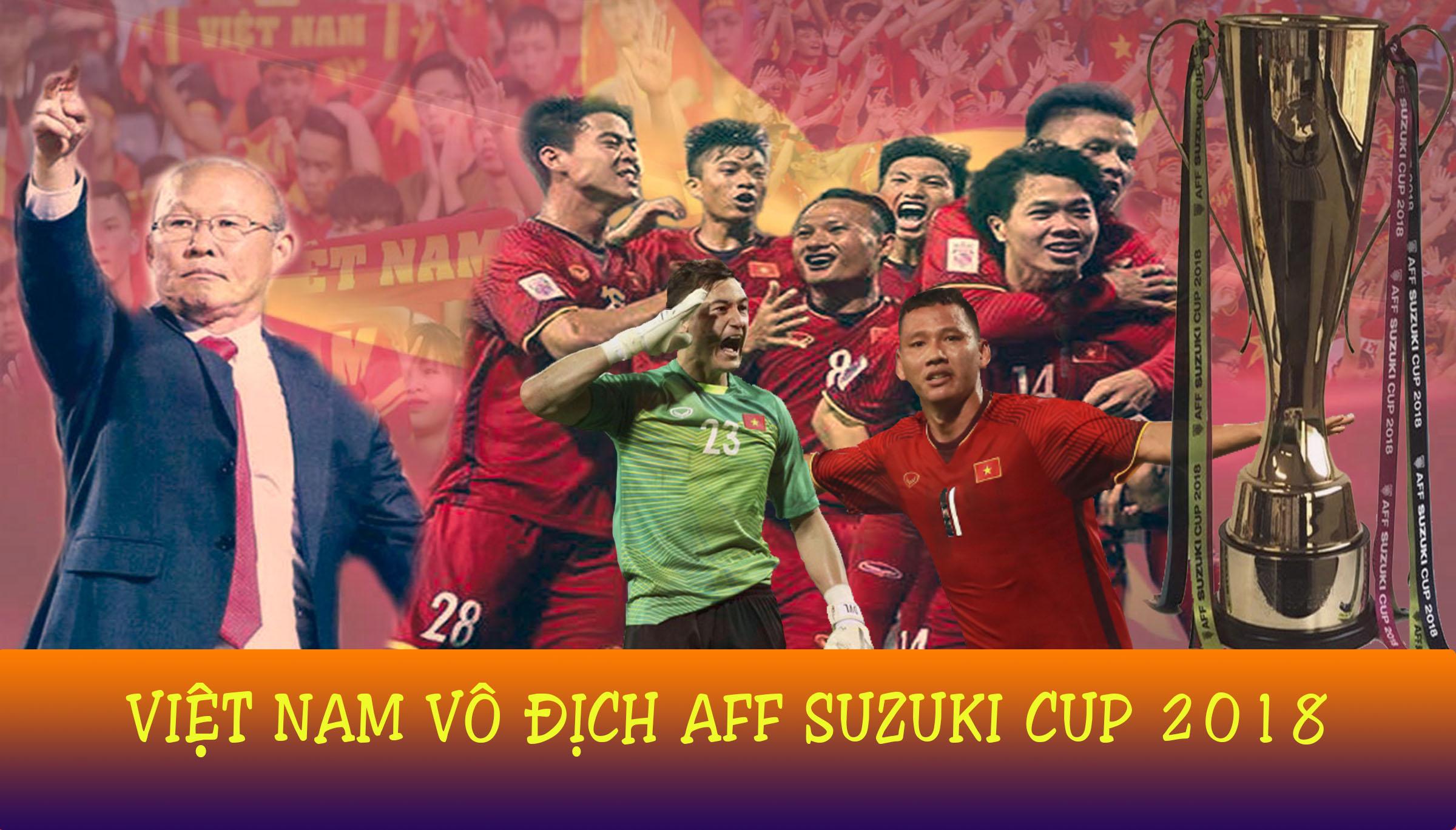 [Infographic] Việt Nam lần thứ hai đăng quang tại AFF Cup
