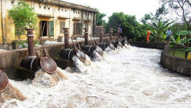 Kiến nghị giải quyết hệ thống kênh tưới, tiêu kết hợp nuôi trồng thủy sản liên xã vùng bãi sông Hồng thuộc Vĩnh Tường