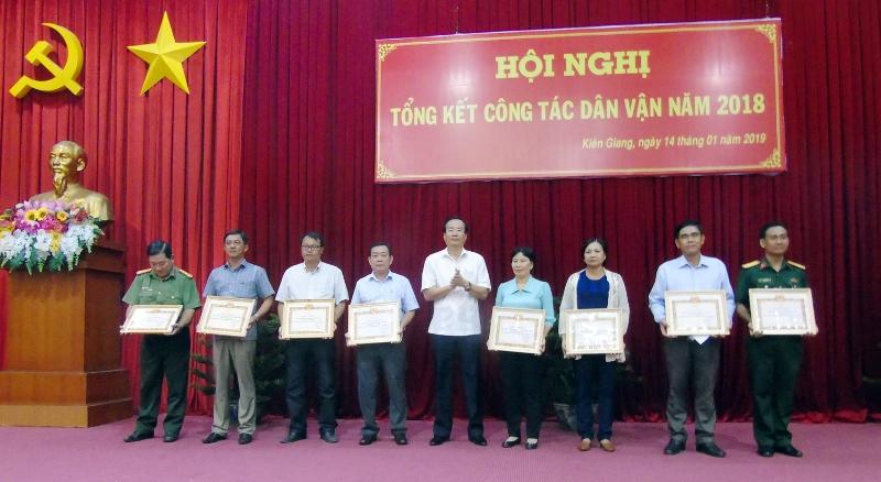 """Kiên Giang triển khai có hiệu quả """"Năm dân vận chính quyền""""  """