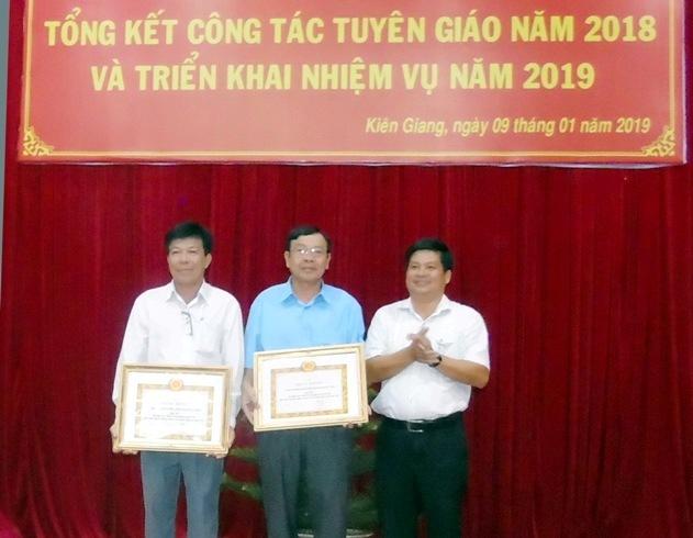 Kiên Giang: Công tác Tuyên giáo đạt kết quả khá toàn diện