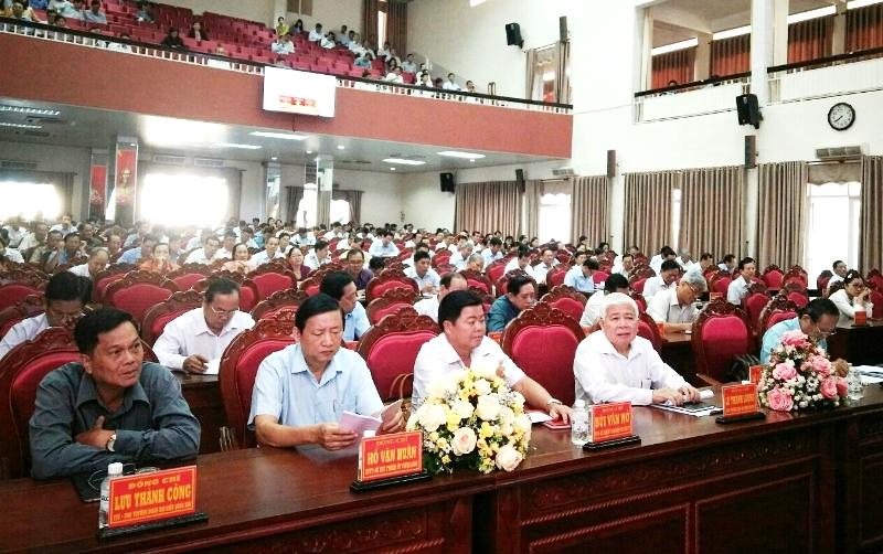 Vĩnh Long quán triệt các nghị quyết hội nghị Trung ương 8