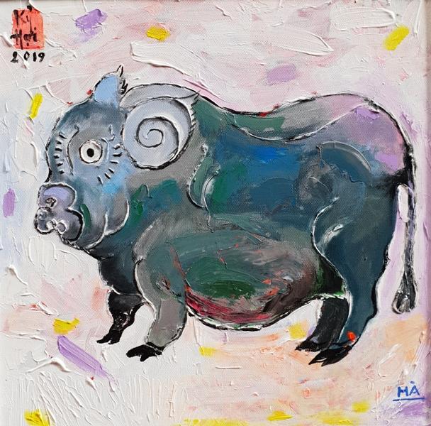 """Hình tượng """"Hợi"""" trong tranh của các họa sĩ Việt Nam"""