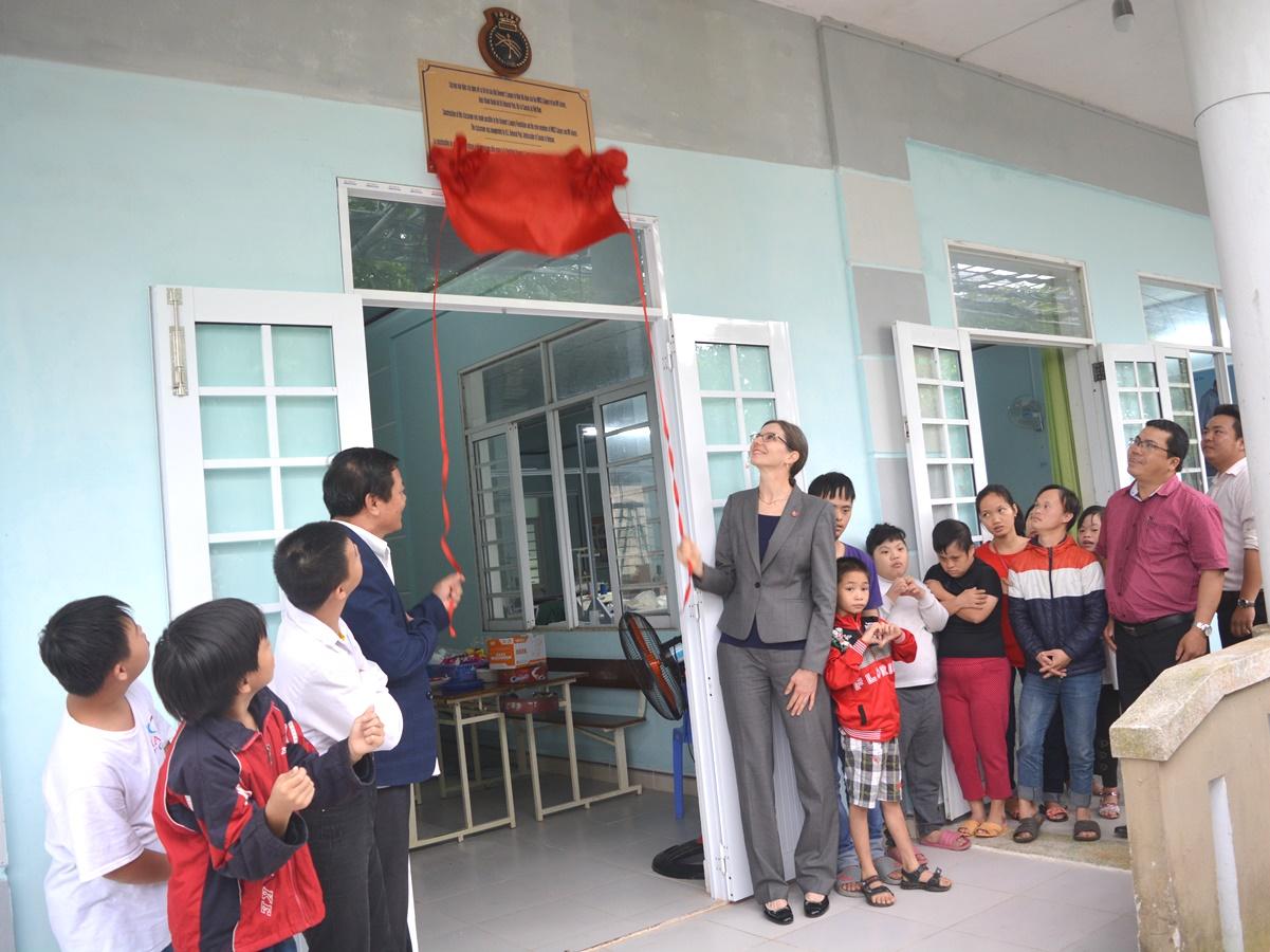 Khánh thành phòng học cho trẻ em có hoàn cảnh đặc biệt tại Đà Nẵng