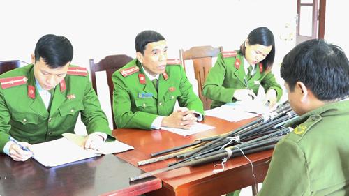 Thanh Hóa: Thu giữ nhiều súng tự chế