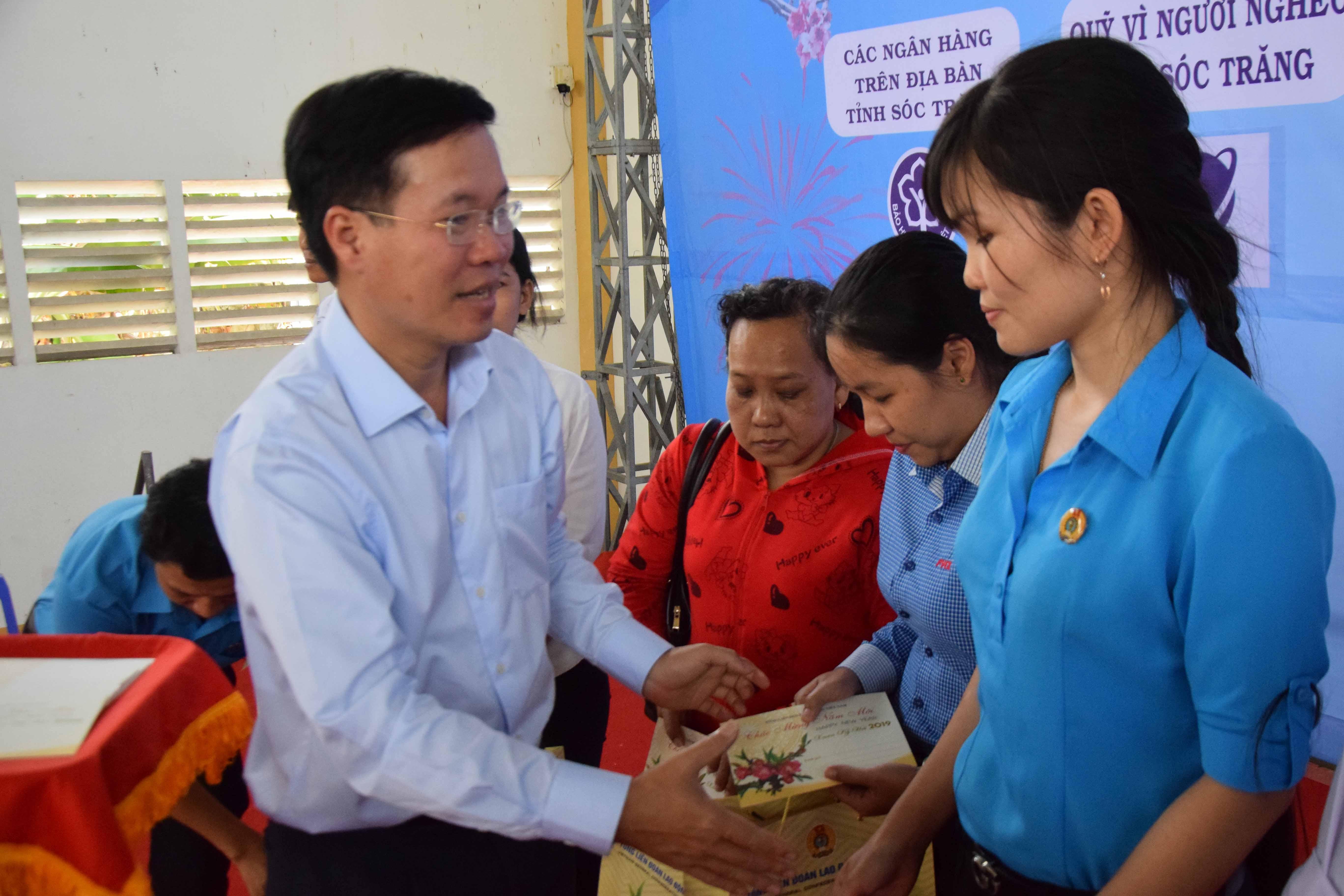 """Đồng chí Võ Văn Thưởng dự """"Tết sum vầy"""" tại tỉnh Sóc Trăng  """