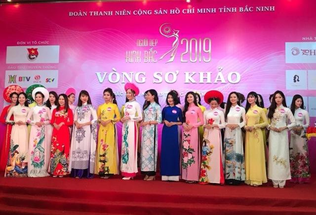 """30 thí sinh vào chung khảo cuộc thi """"Người đẹp Kinh Bắc 2019"""""""