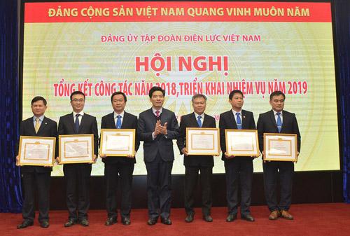 Đảng bộ EVN đã hoàn thành xuất sắc các nhiệm vụ trong năm 2018