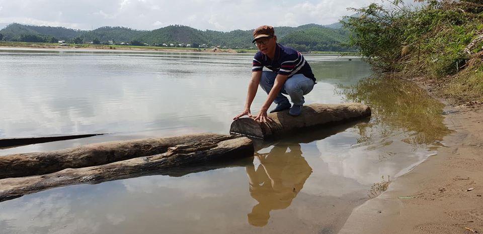 Quảng Nam: Phát hiện vụ vận chuyển gỗ lậu trên sông Vu Gia