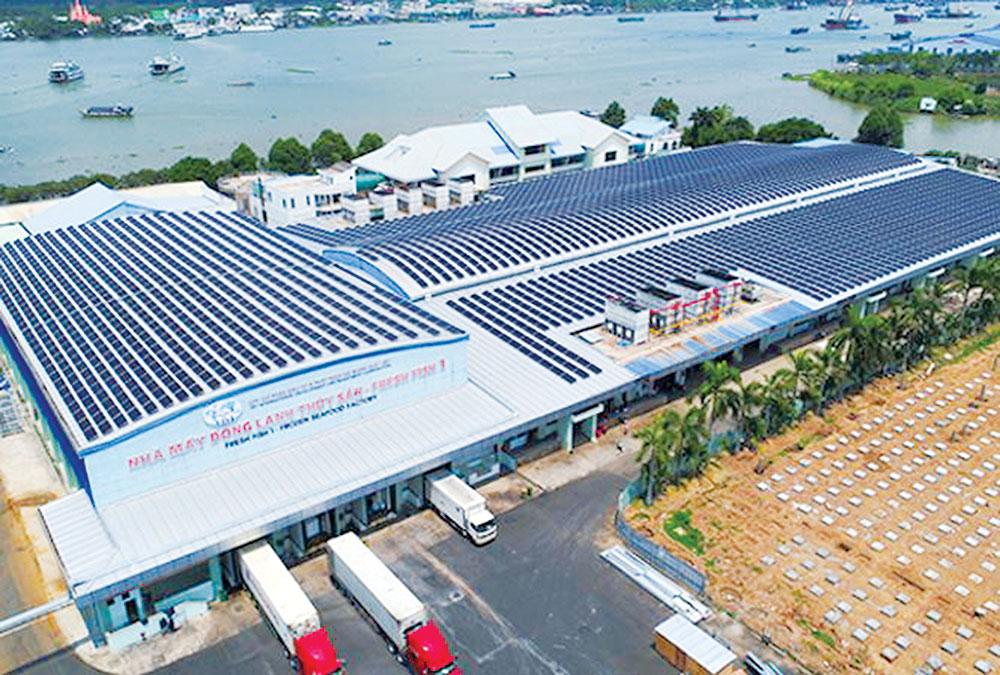 Sử dụng năng lượng điện mặt trời áp mái: Có khả thi với doanh nghiệp chế biến thủy hải sản?