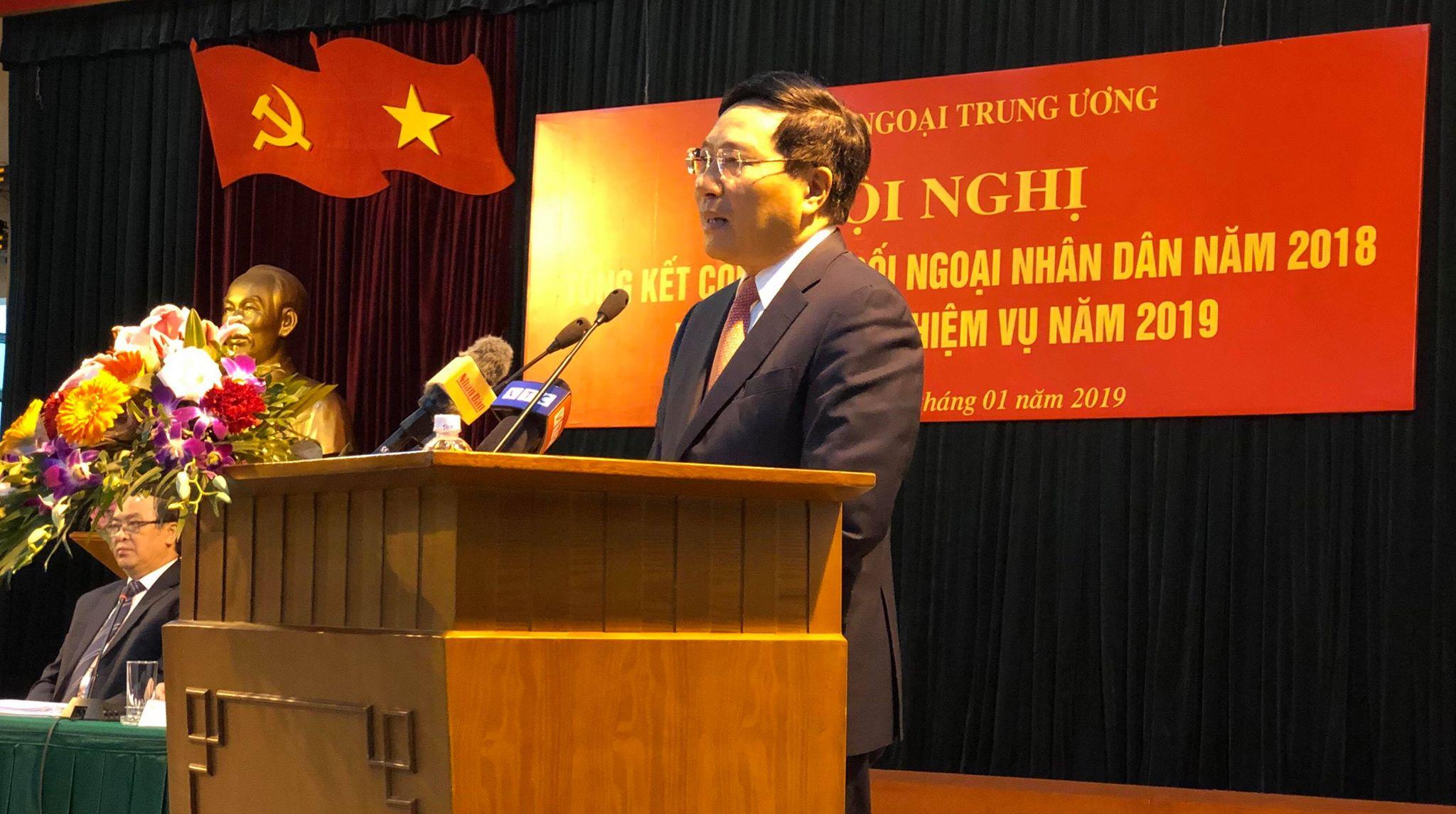 Tiếp tục thúc đẩy, nâng cao hiệu quả công tác đối ngoại nhân dân