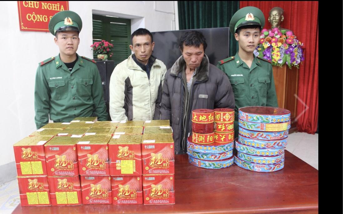 Quảng Ninh: Bắt vụ vận chuyển 60 kg pháo lậu về chơi Tết