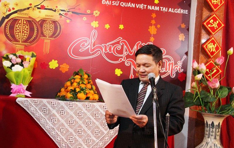 Cộng đồng người Việt Nam tại Algeria gặp mặt đón Tết Kỷ Hợi