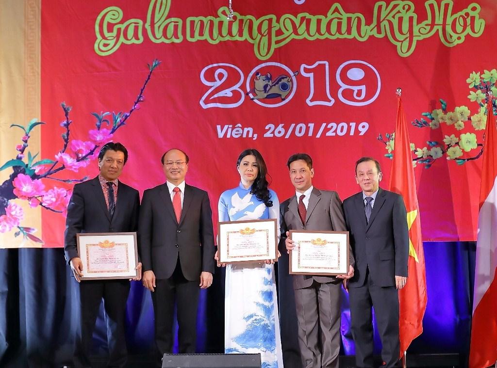 Cộng đồng người Việt tại Áo tưng bừng đón Tết Kỷ Hợi