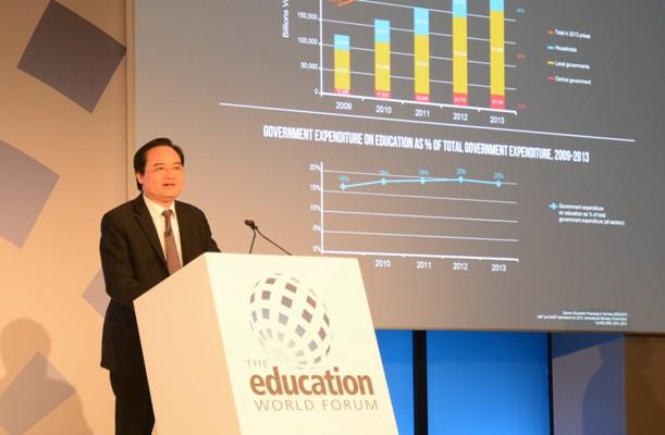 Việt Nam không có sự bất bình đẳng về tiếp cận và kết quả giáo dục