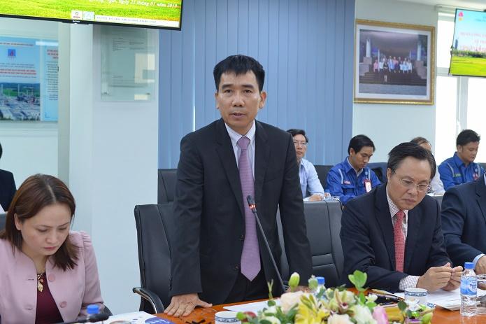Trưởng Ban Kinh tế Trung ương Nguyễn Văn Bình làm việc tại BSR