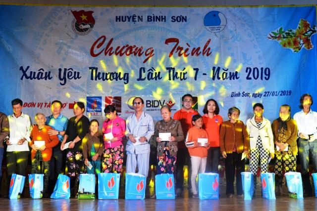 Đoàn thanh niên BSR tổ chức chương trình Xuân yêu thương 2019