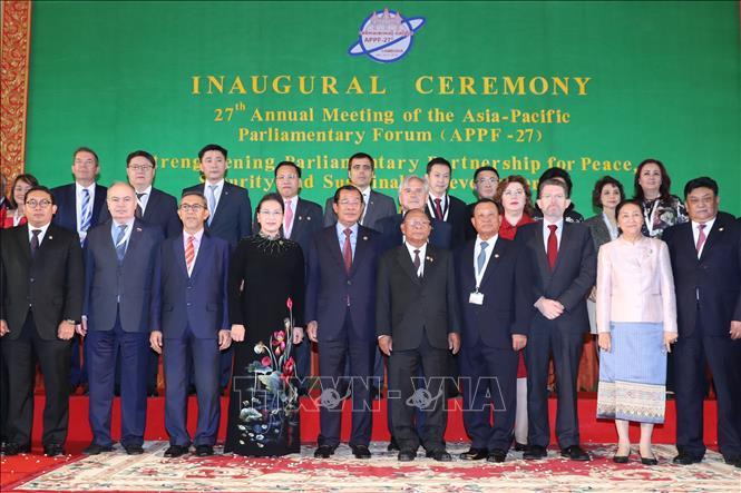 Khai mạc Hội nghị thường niên lần thứ 27 Diễn đàn Nghị viện châu Á - Thái Bình Dương