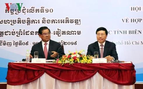 Tăng cường hợp tác và phát triển các tỉnh biên giới Việt Nam - Campuchia