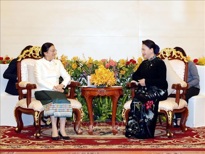Nỗ lực thúc đẩy quan hệ hợp tác giữa Quốc hội hai nước Việt Nam - Lào