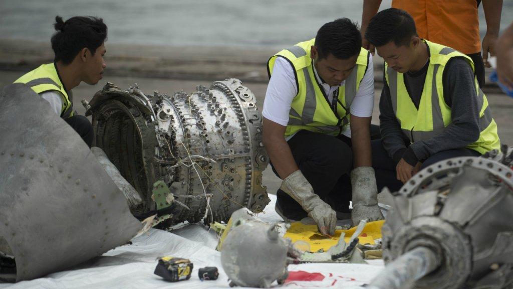 Indonesia tìm thấy hộp đen thứ hai của máy bay Lion Air gặp nạn