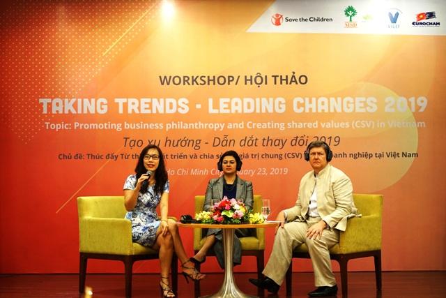 Chia sẻ giá trị chung hỗ trợ doanh nghiệp phát triển bền vững