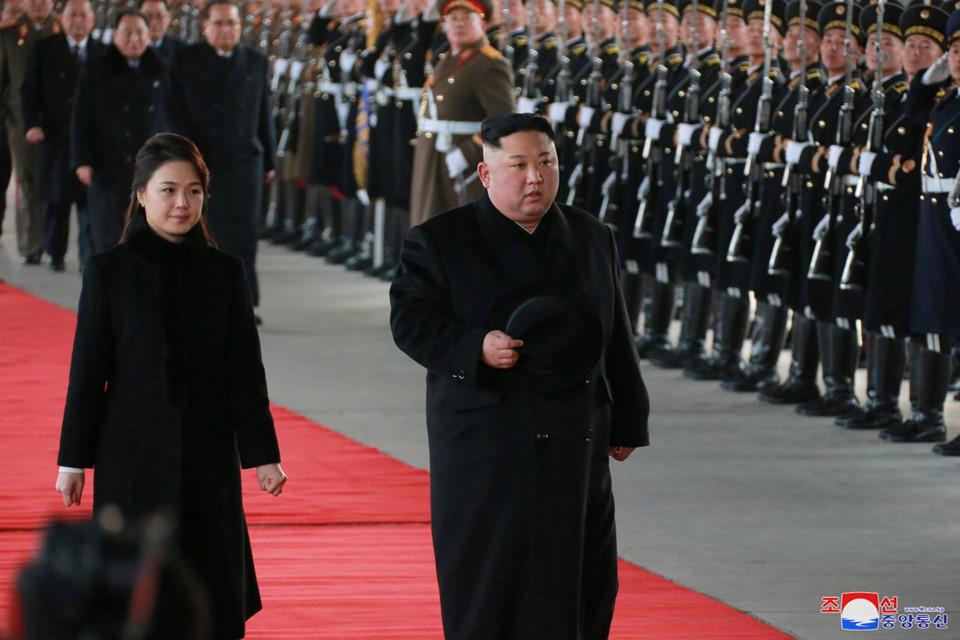 Nhà lãnh đạo Triều Tiên Kim Jong-un thăm Trung Quốc
