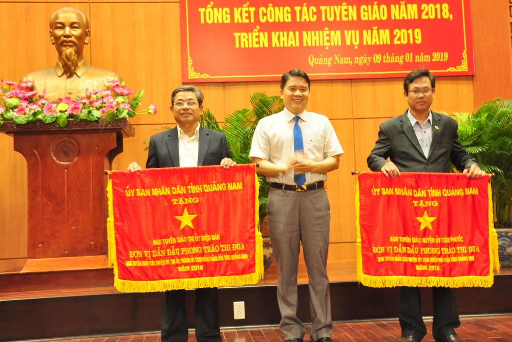 Quảng Nam: Công tác tuyên giáo cần đổi mới phương pháp tiếp cận các vấn đề phát sinh từ thực tiễn