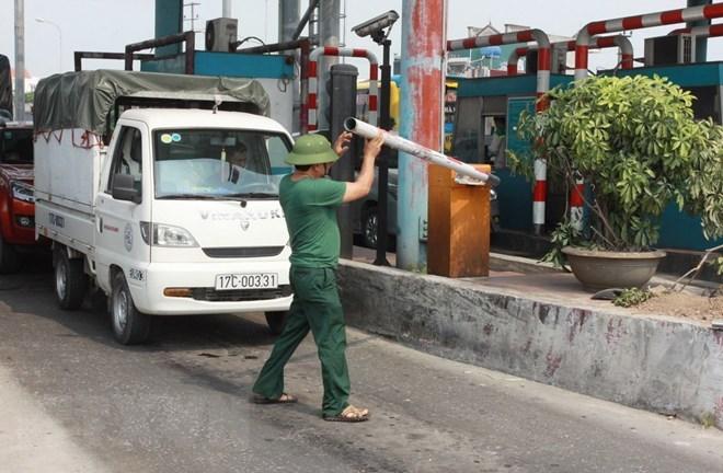 Bộ Giao thông Vận tải yêu cầu đảm bảo an ninh, trật tự tại trạm BOT Tân Đệ