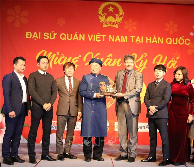 Cộng đồng người Việt Nam tại Hàn Quốc mừng xuân Kỷ Hợi